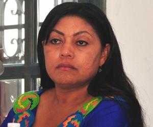 Oneida Pinto.