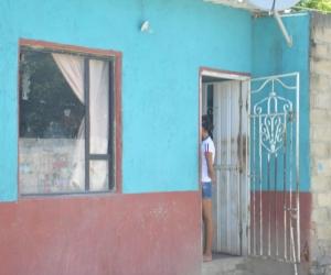 La familia Suárez Sánchez reside en el barrio el oasis.