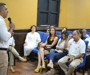 La Gobernación lideró la reunión realizada este martes con gerentes de hospitales del Magdalena.