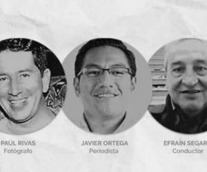 Periodistas ecuatorianos.