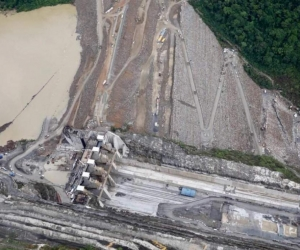 Hidroeléctrica de Ituango.