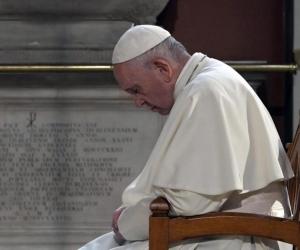 Papa Francisco, en su reflexión habló del divorcio.
