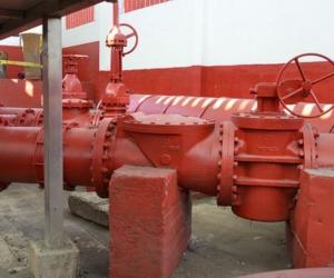 Infraestructura actual de Estación de Bombeo de Aguas Residuales.