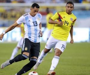 Colombia - Argentina, en el Metlife.