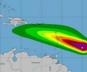 Onda Tropical 'Kirk'.