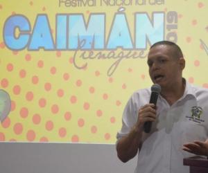 El Alcalde de Ciénaga, Edgardo Pérez Díaz