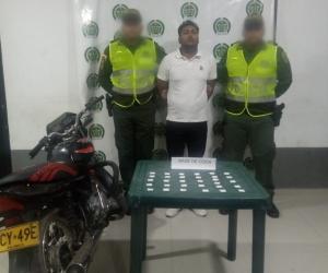 El capturado fue identificado como Jhon William Marín Villalba, 28 años, de nacionalidad venezolana.