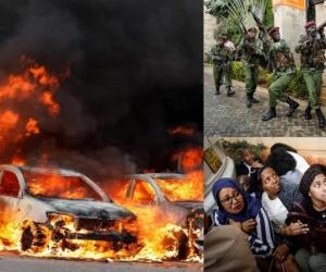 Imágenes del atentado al complejo hotelero en Nairobi