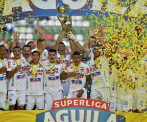 El onceno barranquillero que acaba de conseguir la Superliga, realizó una destacada campaña en el 2018.