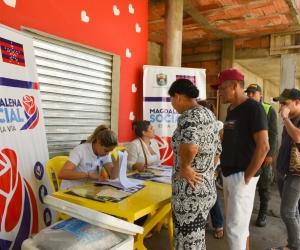 Jornada de Titulación Gratuita de viviendas en barrios de Santa Marta