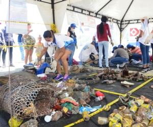 Jornada de limpieza en Santa Marta.