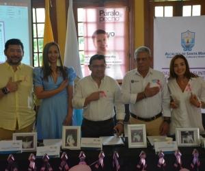 Lanzamiento campaña 'Páralo de pecho' en Santa Marta