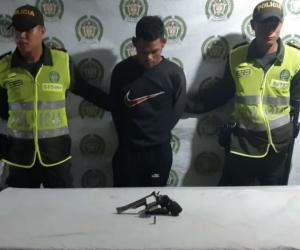 David Armando Hernández Morales de 24 años, capturado.