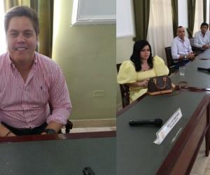 Siete diputados participaron en la sesión de este jueves.