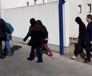 Personas capturadas por la Fiscalía chilena y la Policía de Investigaciones (PDI).
