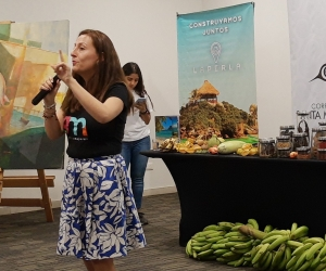 Periodista gastronómica chilena, Pamela Villagra
