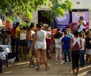 Galeria pasada en el barrio Galán.