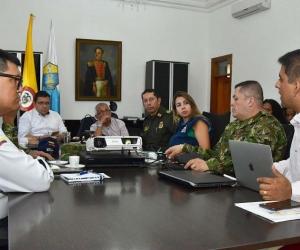Consejo Extraordinario de Seguridad.