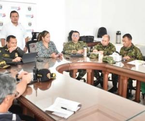 Consejo de Seguridad realizado por la Gobernación.