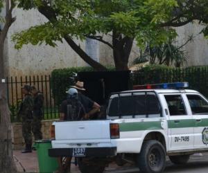 Grabación de serie en Santa Marta.