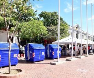 Los nuevos contenedores que llegaron a Santa Marta