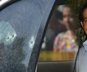 Haled Saghair fue asesinado cuando iba en su carro en el barrio Las Américas.