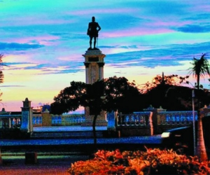 Estatua Rodrigo de Bastidas, fundador de Santa Marta