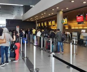 Para esta temporada alta de fin de año, entre el 20 de diciembre y el 7 de enero de 2020, se proyecta que alrededor de 2 millones 496 mil viajeros se movilicen por las diferentes terminales aéreas.