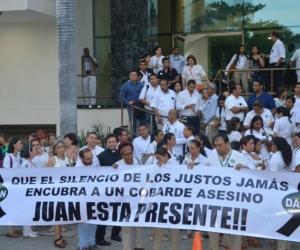 La empresa rechazó el crimen de Juan Carlos Pedrozo.
