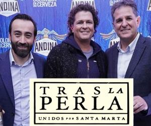 Carlos Vives, durante el lanzamiento de la marca.