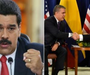 Maduro, Duque y Trump