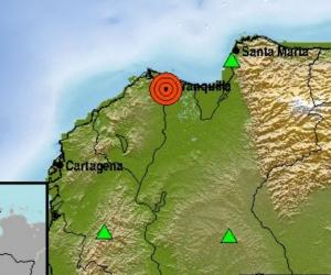 Reporte del sismo.
