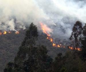 Agricultor muere por inhalación de humo por quema que él mismo realizó