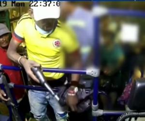 Capturan a presunto ladrón de buses en Barranquilla