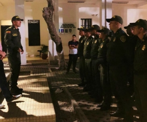 30 nuevos policías llegaron a reforzar la seguridad en la ciudad.