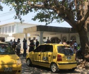 La menor fue trasladada al hospital Nazareth, donde falleció.