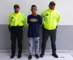 Brayan de Jesús Rivera Hernández, capturado