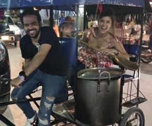 Andrea Jaramillo Char y su futuro esposo, Felipe Restrepo