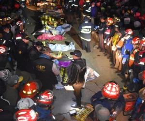 Tragedia en Guatemala deja 18 indígenas muertos y 20 personas más heridas