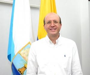 El alcalde encargado de Santa Marta, Andrés Rugeles.