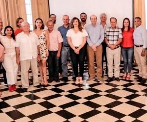 Reunión del Alcalde encargado con gremios y entidades de la ciudad