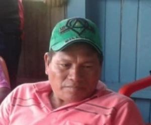 Aquileo Mecheche, líder indígena asesinado
