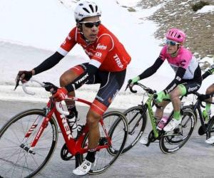 Jarlinson Pantano, ciclista colombiano.