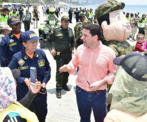 Operativos adelantados por las distintas autoridades en el Distrito.