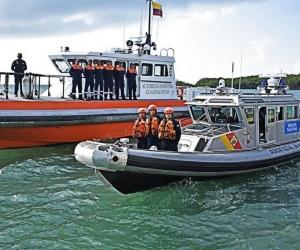 El operativo fue realizado por guardacostas del Comando Específico de San Andrés.