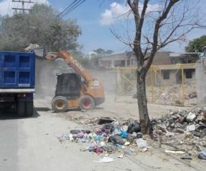 Jornada de limpieza realizada por la Essmar