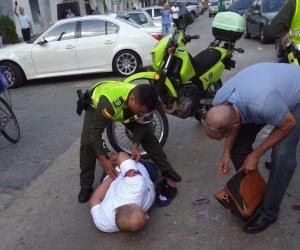 Autoridades frustran robo en Barranquilla