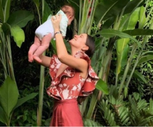 Taliana Vargas y su hija Alicia