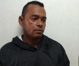 Edgar Eduardo Rodríguez Díaz, capturado por atentado en Los Almendros.