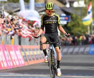 Esteban Chaves, ganador de la etapa 19 del Giro d' Italia